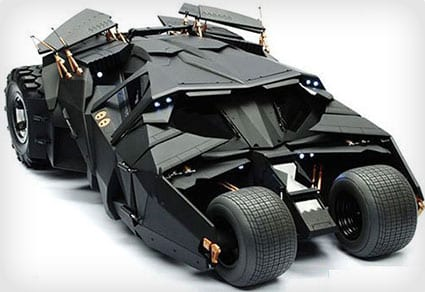 Hot Toys Collector's Batmobile