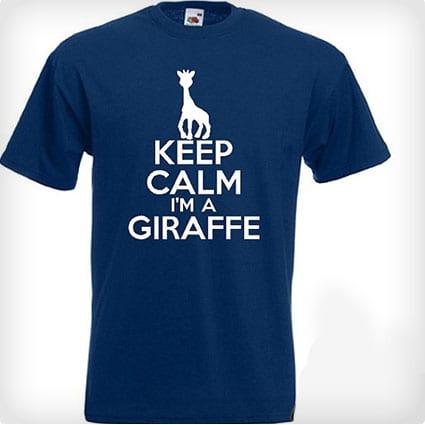 Keep Calm I'm a Giraffe