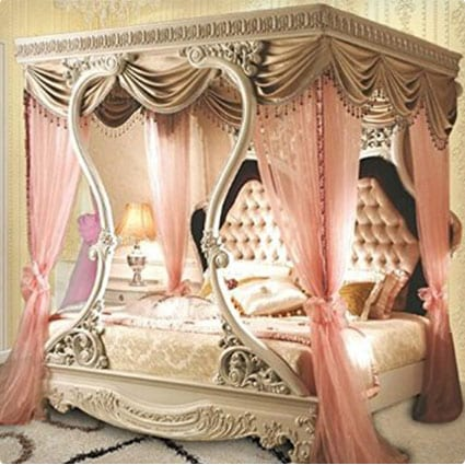 Luxury Princess Canopy Bed