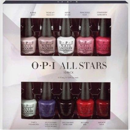 OPI All Stars Mini Lacquer Set