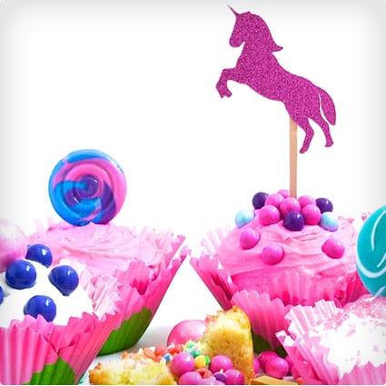 Pinata Candy Cupcakes