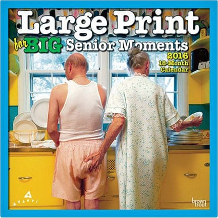 Senior Moments Calendar