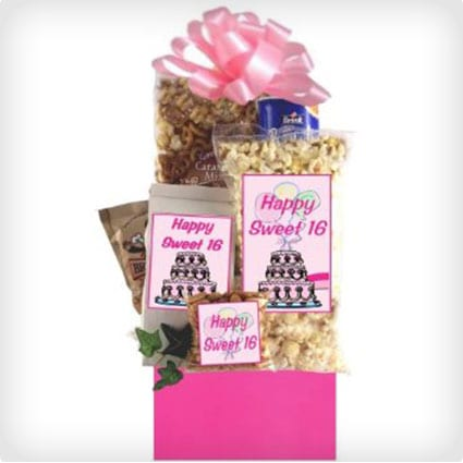 Sweet 16 Birthday Basket