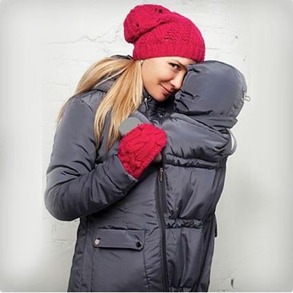 Winter Baby Coat for Mom