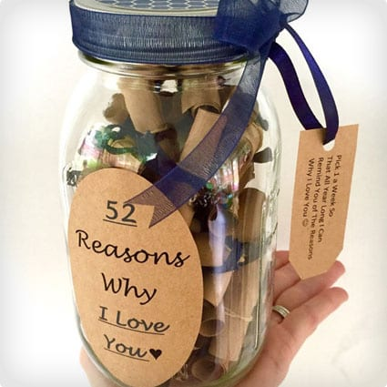 37 gifts that scream i love you dodo burd 52 reasons 52 reasons why i love you negle Gallery