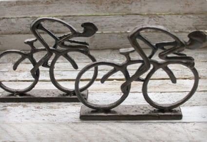 Bike Boookends
