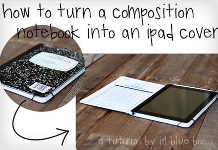 Composition Notebook iPad Cover