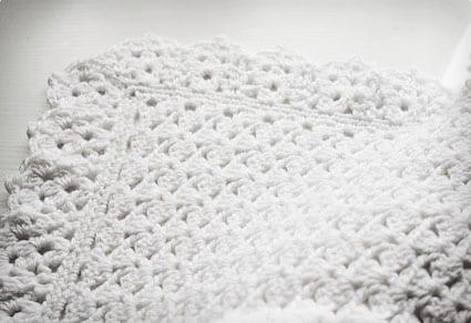 Crochet Christening Blanket