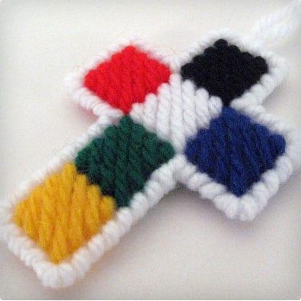 Crochet Purse Cross