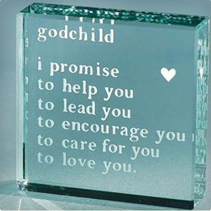 Godchild Paperweight
