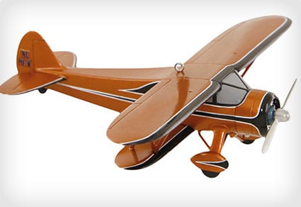 Keepsake Biplane Ornament
