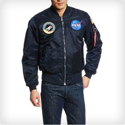 Nylon NASA MA-1 Jacket