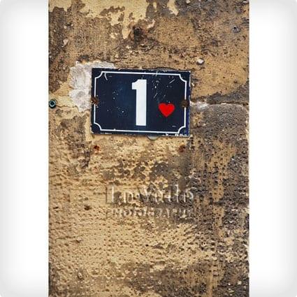 Parisian Street Sign