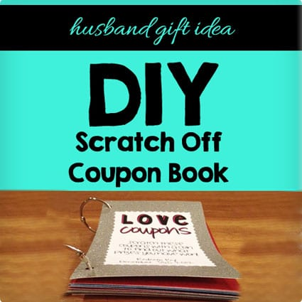 Scratch Off Coupon Book