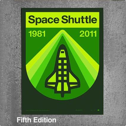 Space Shuttle Poster Kit
