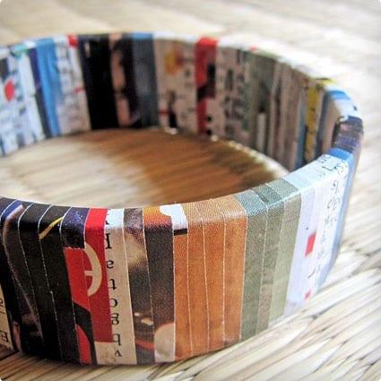 Upcycled Eco-Bracelet