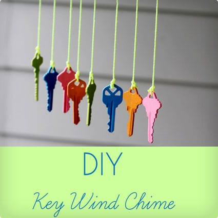 Upcycled Key Windchime