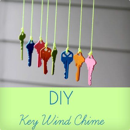Upcycled Key Windchime