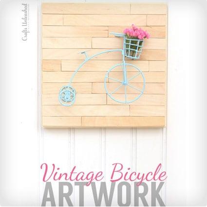 Vinatge Bike Art