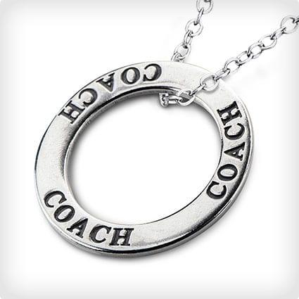 Coaches Pendant