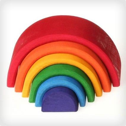 Rainbow Nesting Shapes