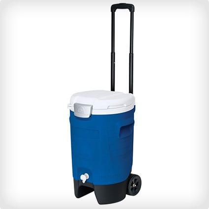 Rolling Beverage Cooler