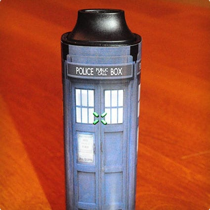 Tardis Vape Sticker