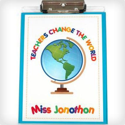 Teachers Change the World Clipboard