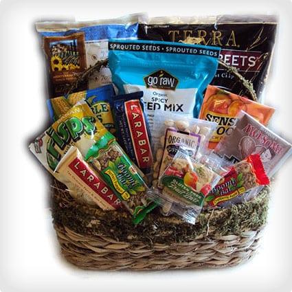 20 healthy gift baskets to nourish fuel them dodo burd vegetarian delight solutioingenieria Images
