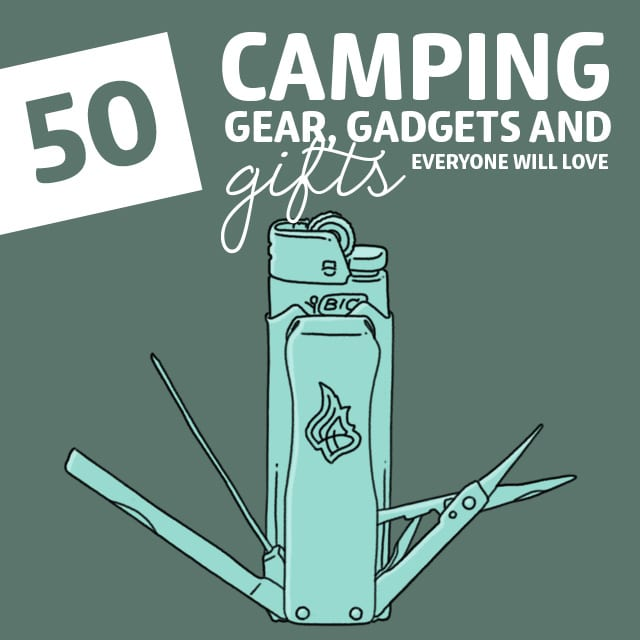 Know someone that's a camping enthusiast? They're sure to get a kick out of any of the gifts on this list. From items that make their camping experience even better, to useful supplies that could end up saving their life, there's something for every sort of camper out there. It's always a good idea to stick to their interests, and these are sure to hit the mark.