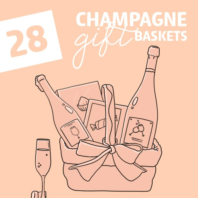 There is nothing better than a little bit of bubbly! Next time you need to get a gift, go the extra mile and pick out one of these fabulous champagne gift baskets for them.