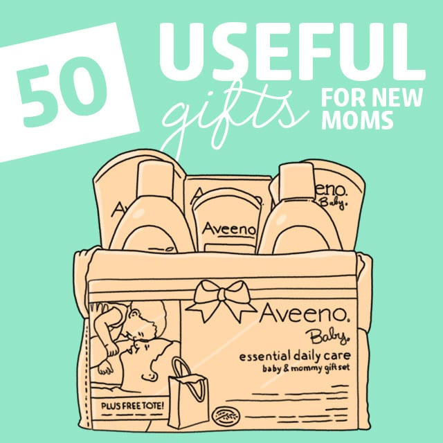 Here are 50 gift ideas for new moms that are safe, unique and extremely useful.