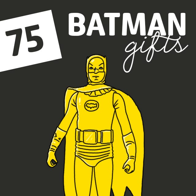 75 Batman Gifts for Fans of All Ages - Dodo Burd