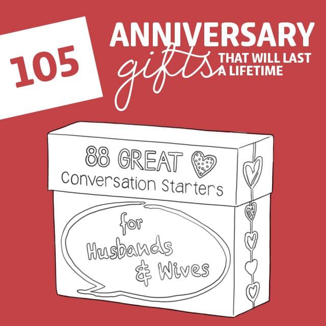 7786482fab92 105 Anniversary Gifts That Will Last a Lifetime - Dodo Burd