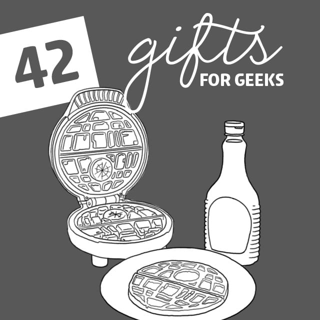 Geeks have their own vast world of things they love, so if you're on the outside like me you may wonder wha gifts for geeks to get them. Wonder no more and tap into that inner geekiness with this list.