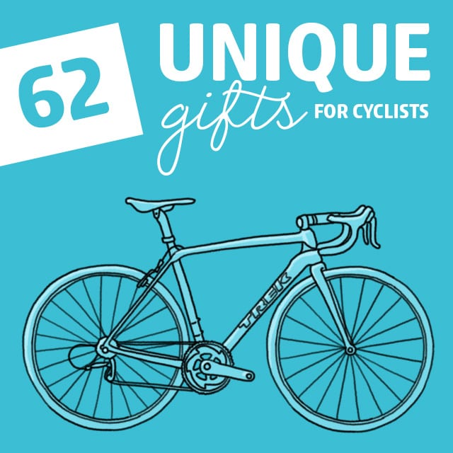 If you have a cousin like mine, you'll appreciate a list like this with gifts for cyclists. Cyclists get big into their sport, and you have to know the kinds of things they need to get it right.