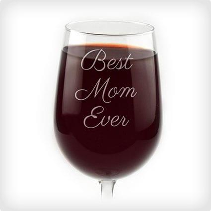 Engraverd Wine Glass