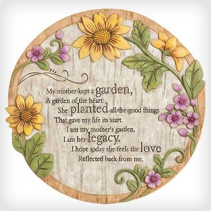 Mother's Garden Stone