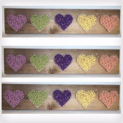 Sweet Pea Hearts