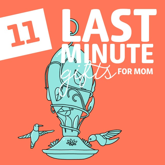 These are some really great last minute gifts for mom when you are in a pinch.