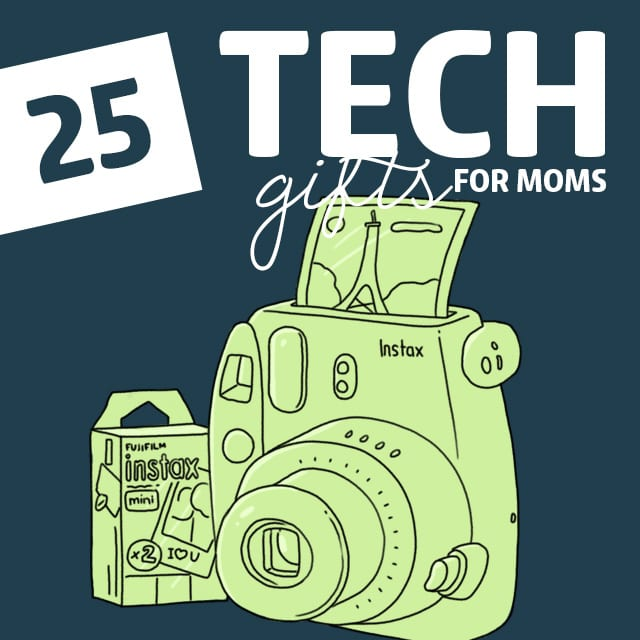Your non-techy mom will love these tech gifts! After she figures out how to use them :)