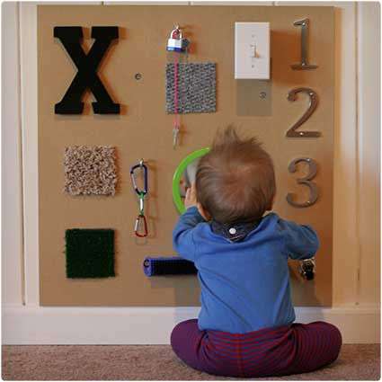 DIY Sensory Boards