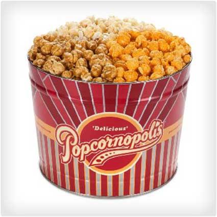 Gourmet Popcorn Tin