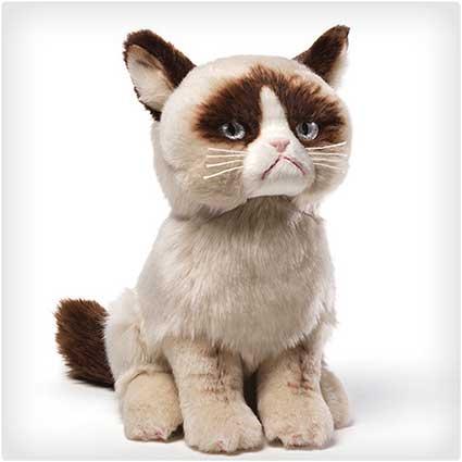 Grumpy Cat Plush Stuffed Animal