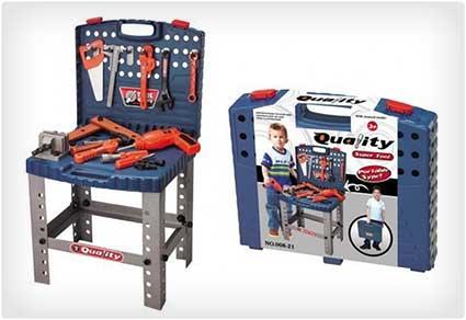 Toy Tool Workbench Set