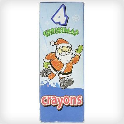 12 Boxes Christmas Crayons