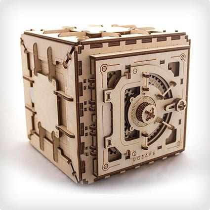 3D Mechanical Safe Puzzle