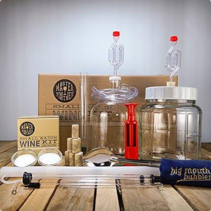 Master Vitner Small Batch Wine Making Starter Kit