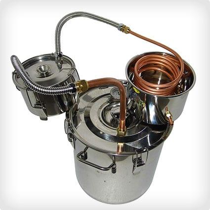 8-Gallonen-Edelstahl-Wasser- und Alkohol-Brennerei