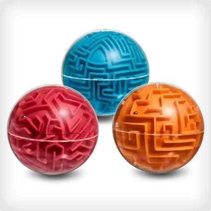 A-Maze-Ball Maze Game